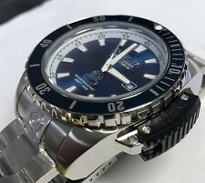 New Mens Invicta Cruise Line Blue Dial Diver Swiss Casual Diver Watch