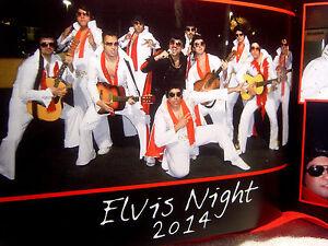 """ELVIS NIGHT"" ELVIS  IMPERSONATORS LIMITED EDITION COLLECTOR ALBUM - MAKE OFFER"