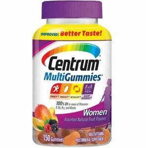 Centrum Multi-Gummies Women - 150 Gummies - 75 Servings