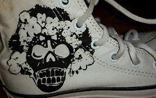 Rarität Totenkopf Skull Chucks CONVERSE CHUCKS  Gr. 32 selten