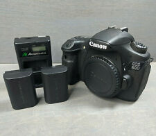 Canon EOS 60D 18.0MP Digital SLR Camera - Black (Body Only) - 10K Clicks
