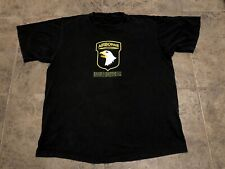 Vintage Changes Band Of Brothers Airborne Hbo Tv Show Promo Black T Shirt Sz Xxl