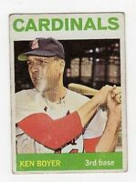 1964 Topps Ken Boyer #160 Baseball Card