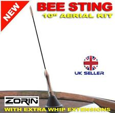 "11"" SILVER CAR ROOF AERIAL BEE STING ANTENNA SEAT CORDOBA INCA TDI"