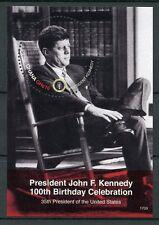 Ghana 2017 MNH JFK John F Kennedy 100th Birthday 1v S/S US Presidents Stamps