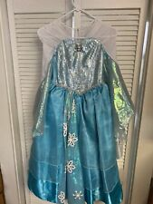 Authentic Elsa Girls Dress From Disney Size6/8