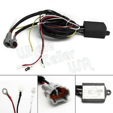 Automatic 12V LED DRL Relay Daytime Running Light Harness Control On/Off Switch