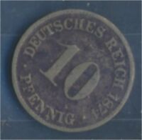 Deutsches Reich Jägernr: 4 1874 C sehr schön Kupfer-Nickel 10 Pfennig (7849106