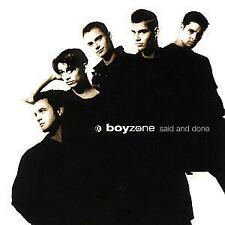 BOYZONE Said & Done CD ALBUM 1995