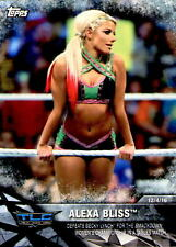 2017 Topps WWE Women's Division Rookie Alexa Bliss WWE-8  WWE-16 & WWE-23 LOT SP
