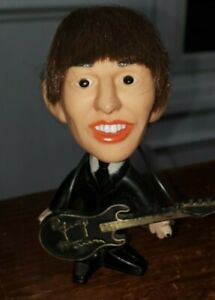 Vintage 1964 George Harrison Hard Body doll, Great Condition, With guitar