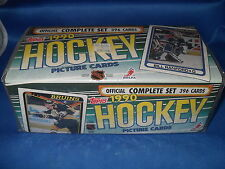 1990-91 TOPPS HOCKEY - FACTORY SET (264) NHL CARDS / WAYNE GRETZKY *LQQK*