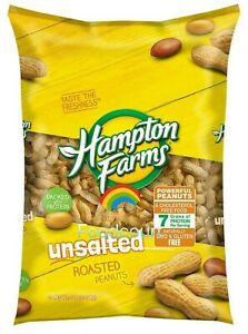 Hampton Farms Unsalted In-Shell Peanuts 5 lbs