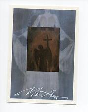 Cutting Edge Creator Trading Card (1993) #1 Signed Artist Jon J Muth Vanguard NM