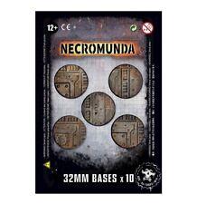 Necromunda Industrial Bases Games Workshop Gelände Terrain Base Underhive 32mm
