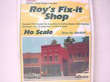 Ho Rix Smalltown Kit Roy'S Fix-It Shop. Kit pack is still sealed & never opened. 00004000