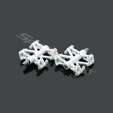 "Wellgo B137R 9/16"" Magnesium Flatform BMX Bike Pedals - White"