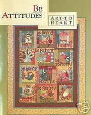 Be Attitudes  by Nancy Halvorsen Art To Heart NEW NEW