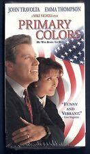 NEW VHS! PRIMARY COLORS John Travolta Emma Thompson