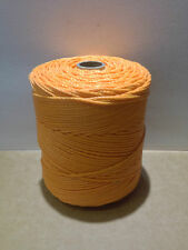 10/45 ORANGE TWISTED TWINE 1 KG SPOOL POLYETHYLENE COTESI/EURONETT