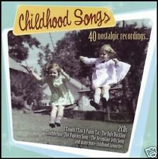 40's & 50's (2 CD) NOSTALGIA~SHIRLEY TEMPLE~MEL BLANC*NEW*