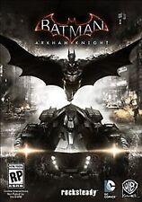 Batman: Arkham Knight (PC) Excellent Condition #007 Discs Only