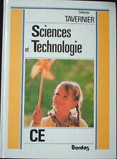 Sciences et technologie- CE - collection Tavernier