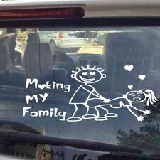 1x My Family Funny Vinyl Decal Sticker Car SUV Window Decor Accessory Waterproof