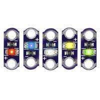 5pcs 3V-5V 40MA Mini LilyPad LED SMD LED Equipment for Arduino Light Mod al