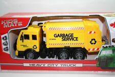 Dickie 203744003 - Heavy City Truck - Müllabfuhr / Garbage Service (Ca 25cm)-Neu