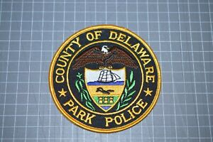 County Of Delaware Park Police Patch (B17-8)