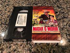 Matar O Morir VHS! Rare Spanish Mexi Action! Vicente Fernandez