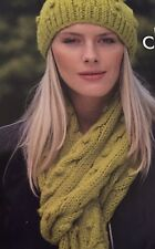 Cg44 - Knitting Pattern - Chunky Hat & Scarf - Unisex Adult