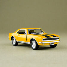 1967 Chevrolet Camaro Z/28 Yellow 1:37 Scale Die-Cast Model Car Pull-Back