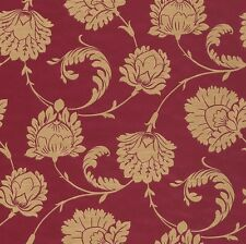 Vliestapete Barock Blumen rot gold Tapete Rasch En Suite 546309 (3,44€/1qm)