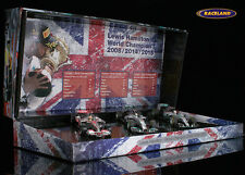 F1 ENS Lewis Hamilton-f1 Poison set world champion, MINICHAMPS 1:43