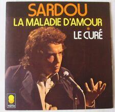 michel SARDOU  45 tours La maladie d'amour - Le curé (1973)
