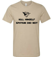 Epstein Didn't Kill Himself Shirt Baby Yoda Memes Star Wars Tshirt Sizes S-3XL
