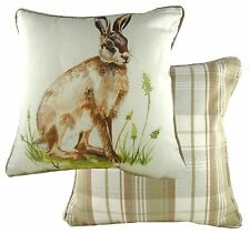 Country Hare Cushion Cover by Evans Lichfield  NEW