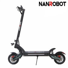 Us Nanrobot D6+ Electric Scooter 2000W Adult Dual Motor Disk Brake Folding 40Mph