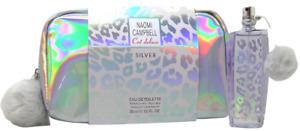 Naomi Campbell Cat deluxe Silver Set 30 ml EDT Spray + Bag / Tasche