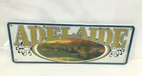 METAL TIN NOVELTY NUMBER LICENSE PLATE WALL SIGN GIFT AUSTRALIA BARRIER REEF