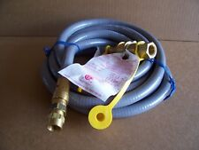 VERMONT CASTINGS GAS GRILL 1/2 INCH X 12 FOOT NATURAL GAS HOSE #50002384  (NEW)