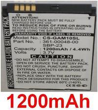 Batterie 1200mAh Pour ASUS GARMIN Nuvifone A10 M10 M10E T20 361-00048-00, SBP-23