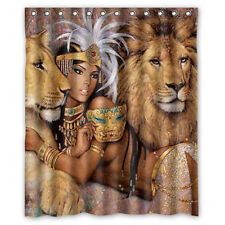 Waterproof Polyester Fabric Various Pattern 12 Hooks Bathroom Shower Curtain Y