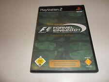 PlayStation 2  PS 2   F1 - Formel Eins 2001