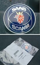SAAB 900 Classic Cofano Cofano Distintivo Badge 1982-1998 4522884 convertibile Aero MR
