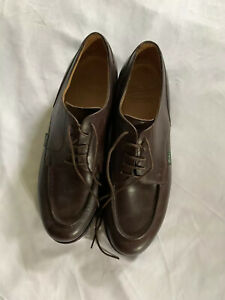 Paraboot Chambord Mens Shoes Derbies Made In France brown Size 10F Retail $468