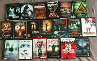 Horror DVD & Box Set Lot Bundle X19 Slasher Omen 28 Days IT Scream UK DVD's / #2