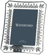 "WATERFORD CRYSTAL LISMORE PICTURE FRAME 4 x 6"" - BRAND NEW/GIFT BOXED"